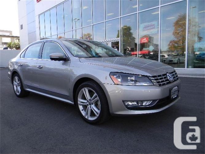 2013 Volkswagen Passat Comfortline NO ACCIDENTS LOCAL