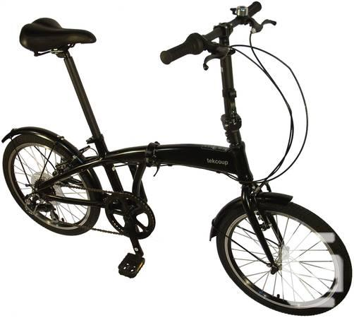 2014 Aluminum Folding Bike- Black - $499