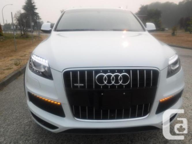 2014 Audi Q7 TDI Quattro Premium Diesel