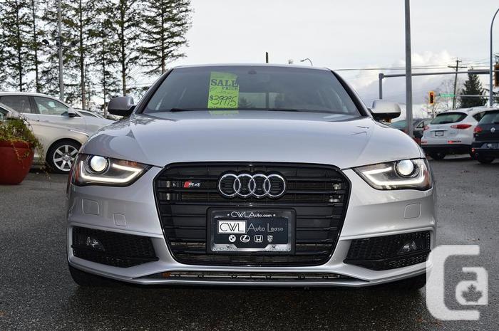 2014 Audi S4 Premium Plus - Progressiv