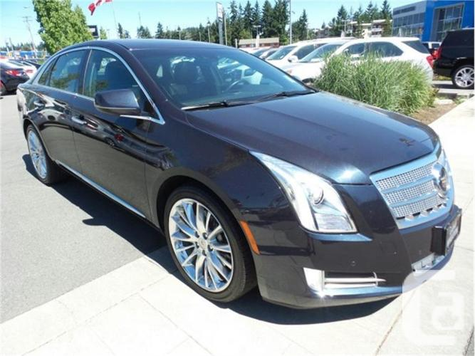 2014 cadillac xts platinum collection for sale in nanaimo british columbia classifieds. Black Bedroom Furniture Sets. Home Design Ideas