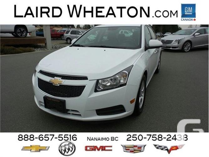 2014 Chevrolet Cruze LT Automatic, Gas, Low Kms