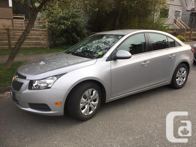 2014 Chevy Cruze LT. Exceptionally Low Kms! Reduced