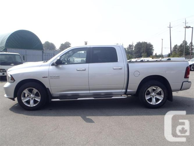 2014 dodge ram 1500 sport crew cab short box 4wd for sale in salmo british columbia classifieds. Black Bedroom Furniture Sets. Home Design Ideas