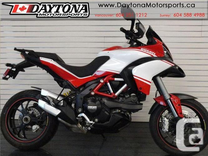 2014 Ducati Multistrada S Pikes Peak Sport Motorcycle *
