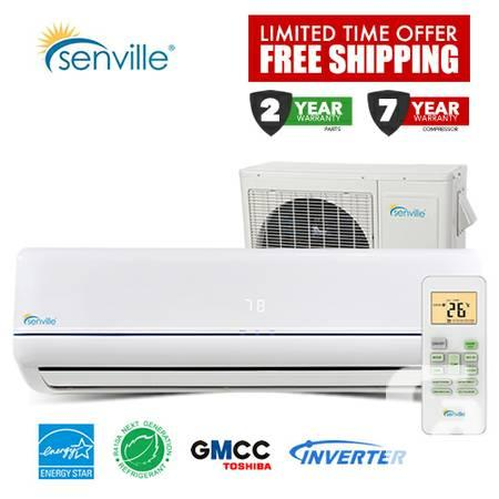 2014 DUCTLESS MINI SPLIT AIR CONDITIONERS WITH HEATER