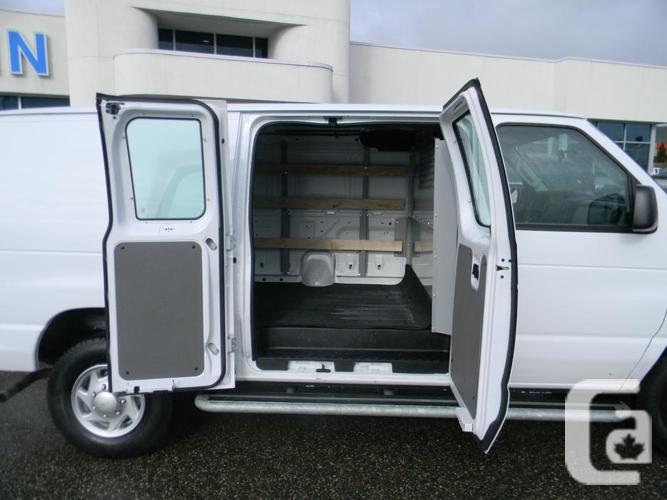 2014 ford e250 cargo van 5q015 for sale in vernon british columbia classifieds. Black Bedroom Furniture Sets. Home Design Ideas