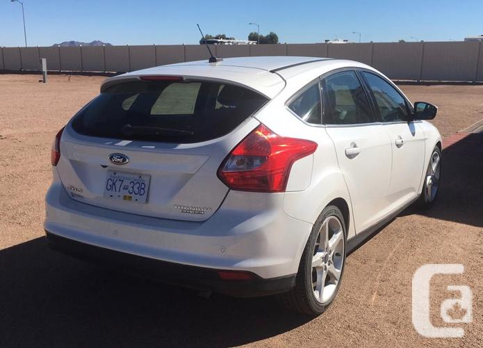 2014 Ford Focus Titanium Hatchback used as Tow Car