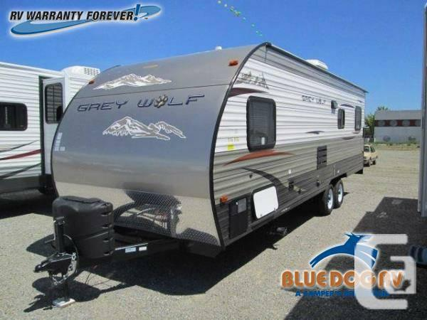 2014 Forest River RV Cherokee Grey Wolf 25RR Toy Hauler