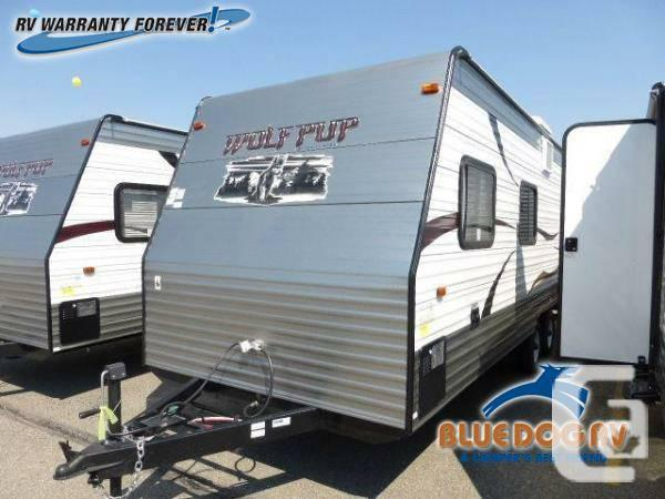 2014 Forest River RV Cherokee Wolf Pup 22BP Travel