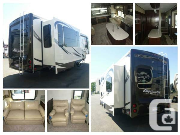 2014 Heartland Rv Big Country 3070re Fifth Wheel For Sale