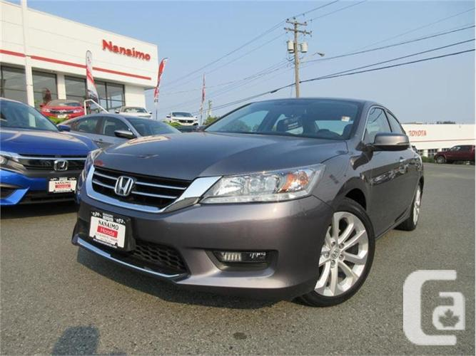 2014 honda accord sedan 4dr v6 auto touring for sale in nanaimo british columbia classifieds. Black Bedroom Furniture Sets. Home Design Ideas
