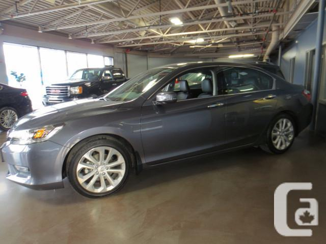 2014 honda accord touring v6 for sale in winnipeg manitoba classifieds. Black Bedroom Furniture Sets. Home Design Ideas