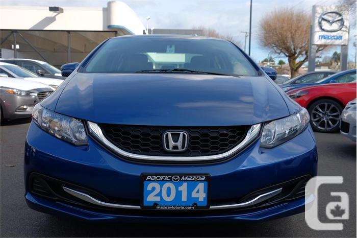 2014 honda civic sedan lx one owner for sale in victoria for Columbia honda service