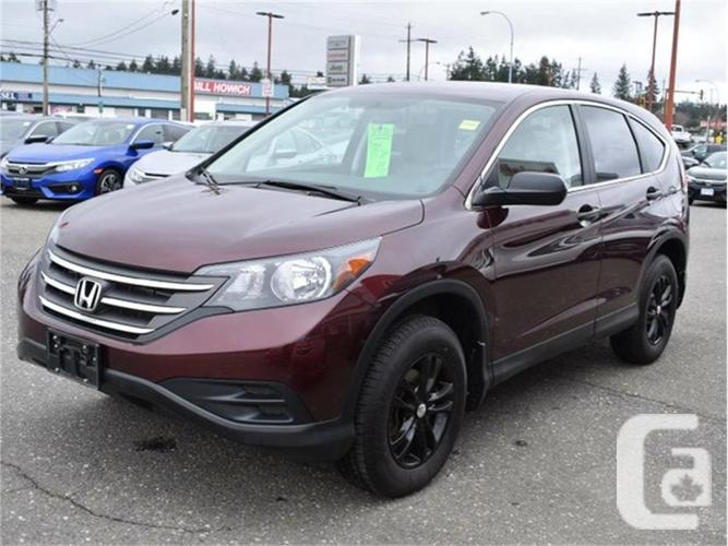 2014 honda cr v lx for sale in campbell river british columbia classifieds. Black Bedroom Furniture Sets. Home Design Ideas