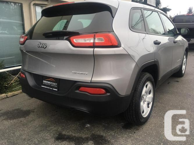 2014 Jeep Cherokee Sport - ONLY 62,000 KMS