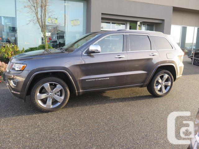 2014 jeep grand cherokee overland 3 0l diesel for sale in langley british columbia classifieds. Black Bedroom Furniture Sets. Home Design Ideas