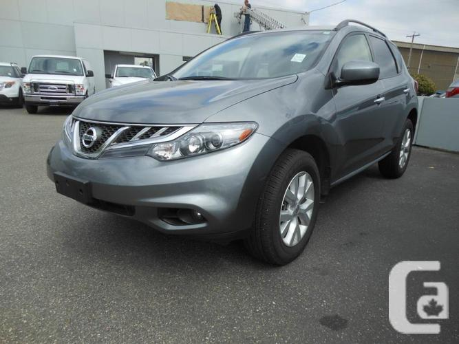 2014 nissan murano great little x over for sale in langley british columbia classifieds. Black Bedroom Furniture Sets. Home Design Ideas