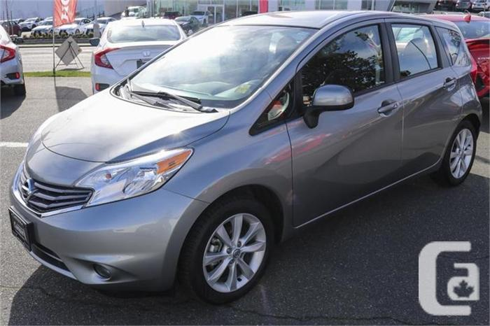 2014 nissan versa note 1 6 sl for sale in victoria british columbia classifieds. Black Bedroom Furniture Sets. Home Design Ideas