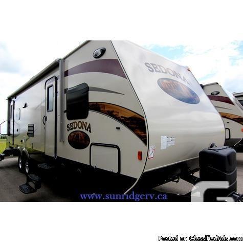 2014 Sedona 288RLS, Travel Trailer
