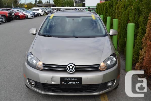 2014 Volkswagen Golf SportWagon TDI // Diesel Gas