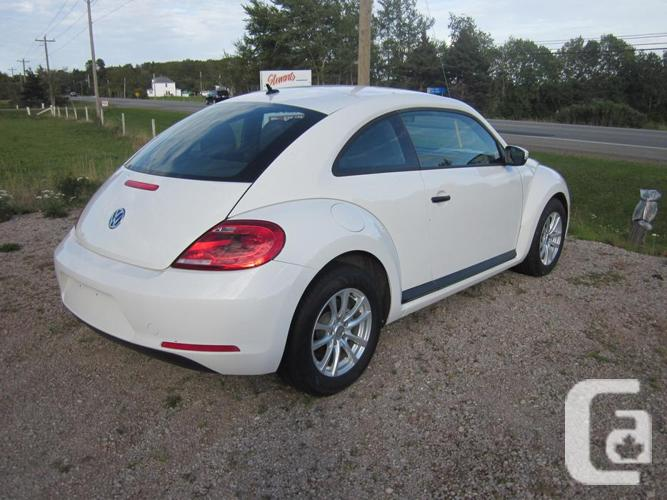 2014 vw beetle for sale in winsloe prince edward island classifieds. Black Bedroom Furniture Sets. Home Design Ideas