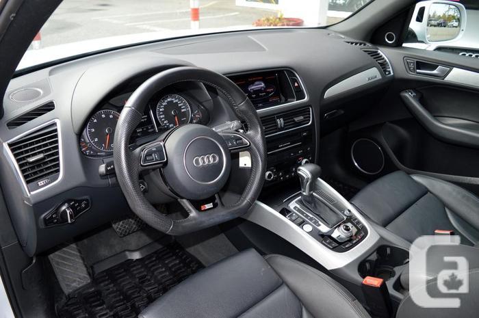 2015 Audi Q5 Quattro 2.0T Technik S-LINE *LOCAL / ZERO