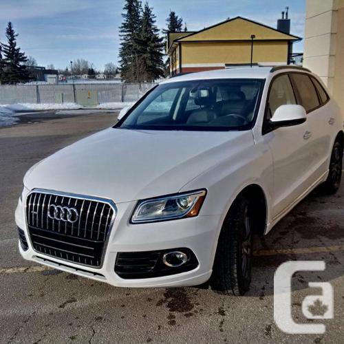 2015 audi q5 suv with trailer hitch for sale in coppersands saskatchewan classifieds. Black Bedroom Furniture Sets. Home Design Ideas