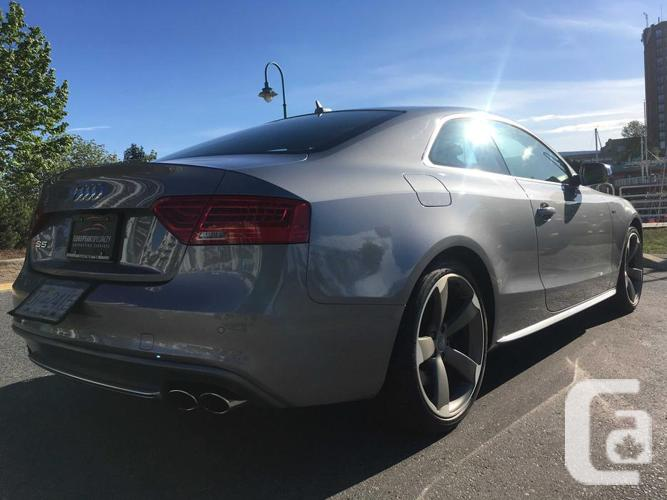 2015 Audi S5 3.0T Technik quattro 7sp S tronic- WITH