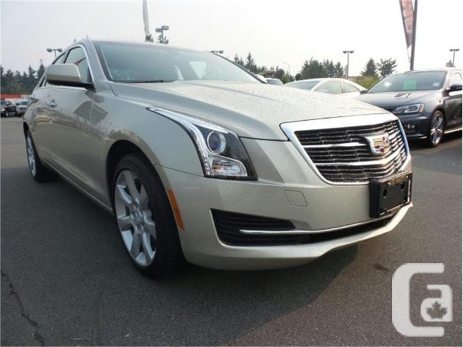 2015 cadillac ats sedan standard awd for sale in nanaimo british columbia classifieds. Black Bedroom Furniture Sets. Home Design Ideas