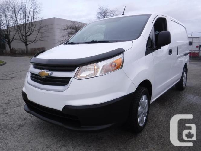 2015 Chevrolet City Express 1LT Cargo Van with Bulkhead