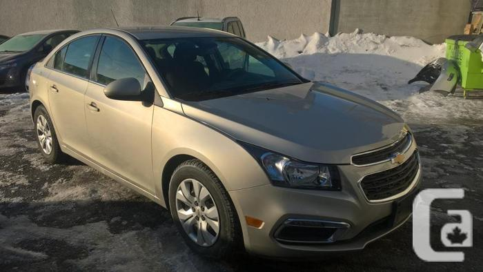 2015 chevrolet cruze lt for sale in ottawa ontario classifieds. Black Bedroom Furniture Sets. Home Design Ideas