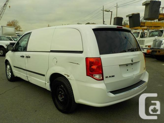 2015 Dodge Caravan Cargo Van Base with Rear Shelving