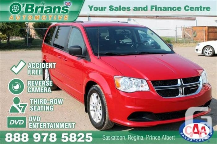 2015 Dodge Grand Caravan SXT - Accident Free! w/DVD