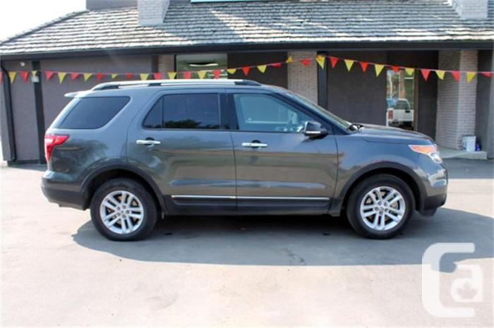 2015 ford explorer xlt 4x4 for sale in regina saskatchewan classifieds. Black Bedroom Furniture Sets. Home Design Ideas