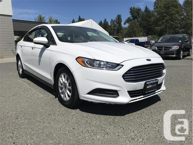 2015 Ford Fusion S- ALLOY WHEELS  BACK UP CAMERA