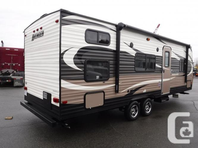 2015 Forest River Avenger 26bh 26 Foot Travel Trailer