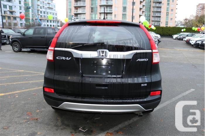 2015 Honda CR-V SE  No Accidents