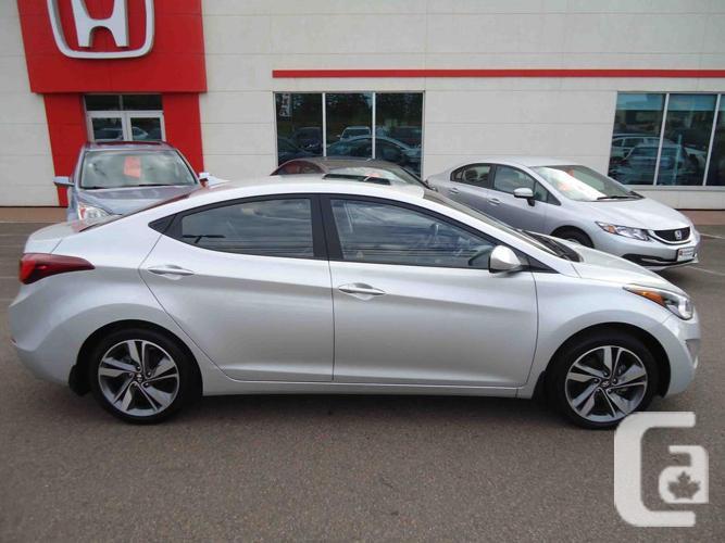 2015 Hyundai Elantra GLS Automatic: LOTS OF OPTIONS!