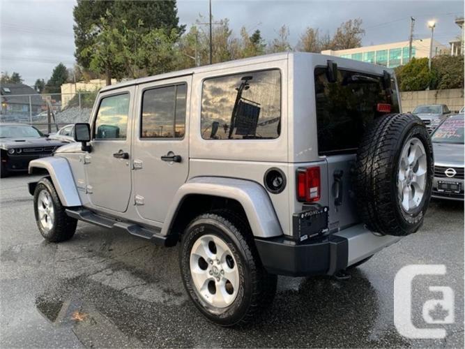 2015 Jeep Wrangler Unlimited Sahara  -Navigation