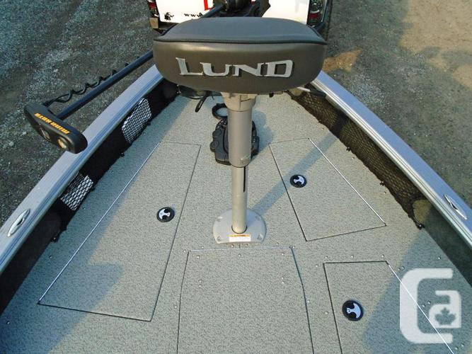 2015 Lund 1875 Pro Guide Demo in Kemptville, Ontario for sale