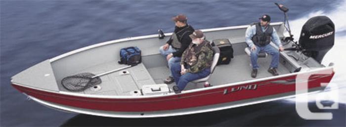 2015 Lund Alaskan 1800 Tiller Boat for Sale for sale in Winnipeg