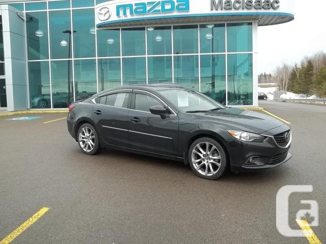 2015 MAZDA 6 GT WITH TECK PACKAGE ONLY 32,000 KM