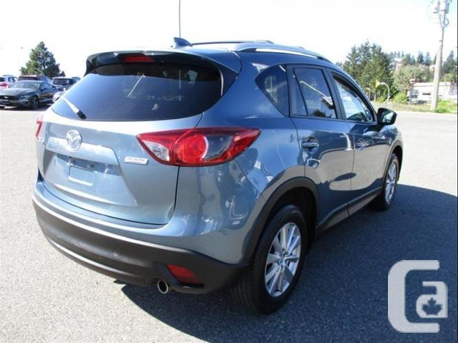 2015 Mazda CX-5 GS - no accidents, one owner, reverse