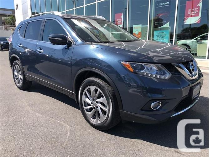 2015 Nissan Rogue SL AWD No Accidents Local B.C.