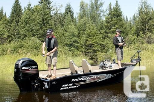 2015 Princecraft Holiday DLX SC Boat for Sale