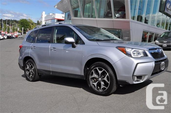 2015 Subaru Forester 2.0XT Touring No Accidents Local B.C. for sale ...