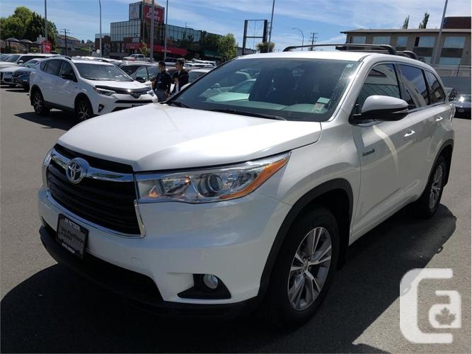 2015 Toyota Highlander Hybrid LE AWD No Accidents Local
