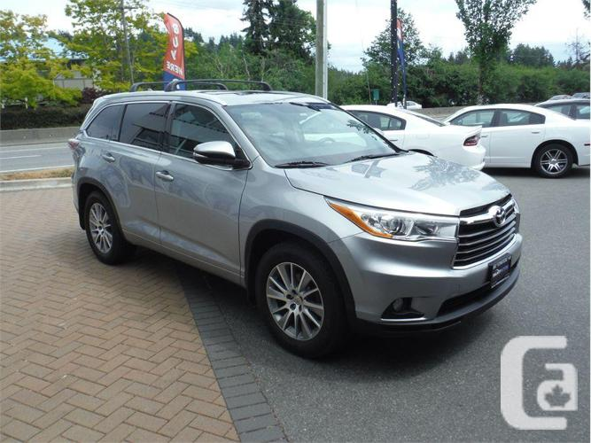 2015 Toyota Highlander XLE - Sunroof Leather AWD