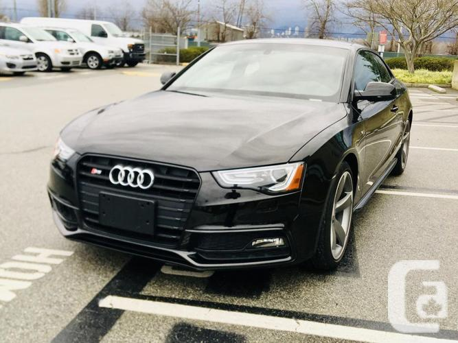 2016 AUDI S5 QUATTRO COUPE TECHNIK BLACK 29K